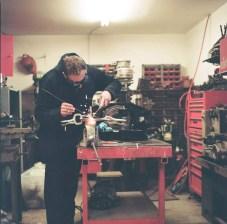 The welder - Kodak Portra 160