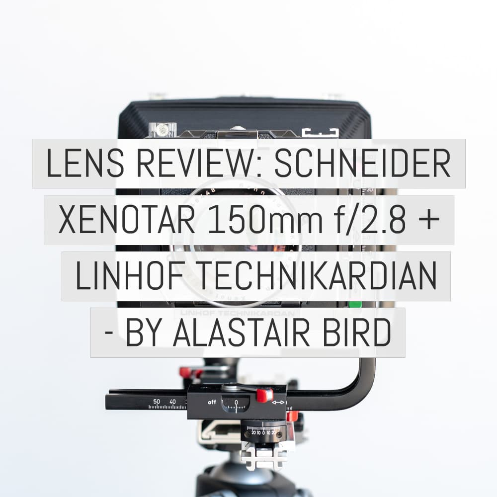 Lens review: Schneider Xenotar 150mm f/2.8 + Linhof Technikardan (plus video) - by Alastair Bird