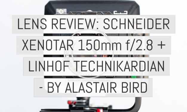 Lens review: Schneider Xenotar 150mm f/2.8 + Linhof Technikardan (plus video) – by Alastair Bird