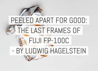 Cover - Peeled apart for good - FUJI FP-100C