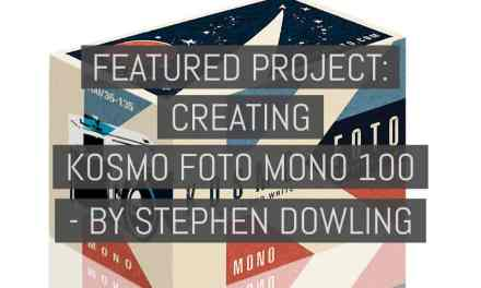 Featured project: Creating Kosmo Foto Mono 100 – by Stephen Dowling