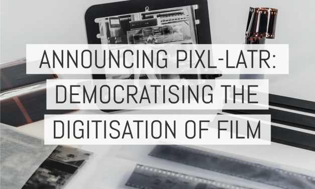 Introducing the pixl-latr: democratising the digitisation of film [with exclusive creator Q&A]