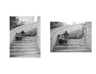 Commerce Street - Fuji GS645 & GS645S - Kodak Tri-X 400