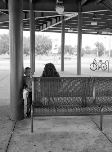 Eastwood Metro Station - Fuji GS645S - Kodak Tri-X 400
