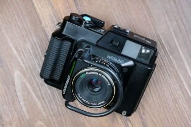 Fuji GS645S - Front