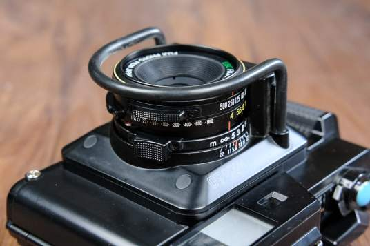 Fuji GS645S - Lens