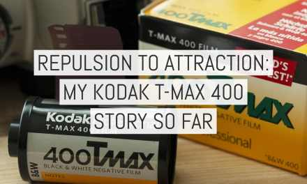 Repulsion to attraction: my Kodak T-MAX 400 story so far