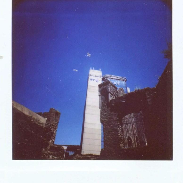 Diana Instant Square - Super wide angle - Swansea Castle