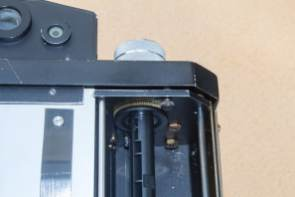 The Nameless Camera - Film counter reset lever