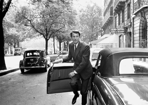 Tony Vaccaro - Hubert de Givenchy - Paris, 1961