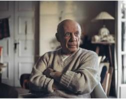 Tony Vaccaro - Pablo Picasso - Mougins, France, 1966