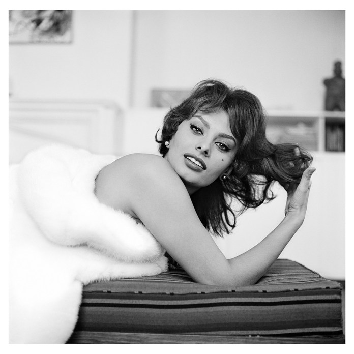 Tony Vaccaro - Sophia Loren - New York, 1959
