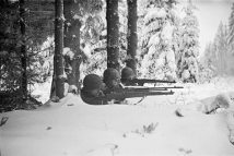 Tony Vaccaro - WWII, Firing Line - Germany, 1944