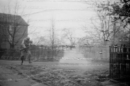 Tony Vaccaro - WWII, Last Step - Ottre, Belgium, 1945