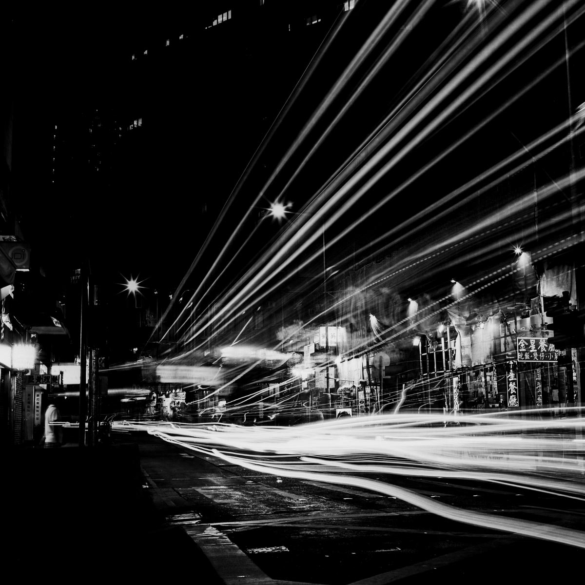 Light traffic - Shot on Rollei Ortho 25 (120 format)