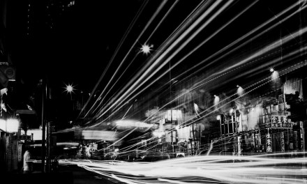 Light traffic – Shot on Rollei Ortho 25 at EI 25 (120 format)