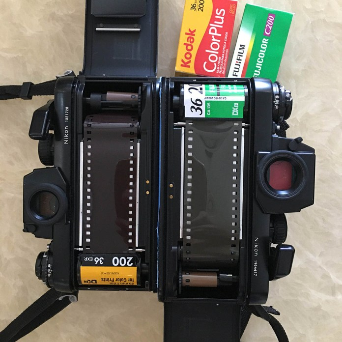 Nikon F3s loaded