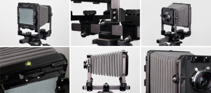 Standard 4x5 Camera - Collage