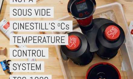 "Not a sous vide cooker: Cinestill's ºCs ""Temperature Control System"" TCS-1000 is a useful tool for simple film development at home"