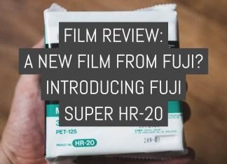 Film Review - Fuji Super HR-20