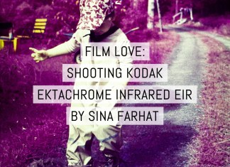 Cover: Film love - shooting Kodak EKTACHROME Infrared EIR color infrared film