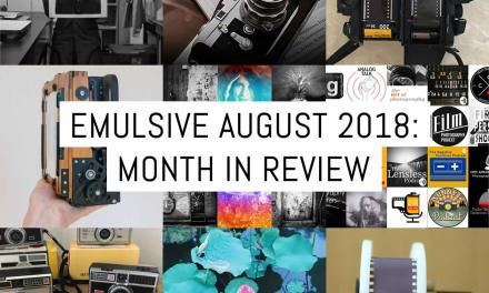 EMULSIVE August 2018: month in review