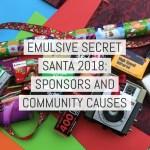 EMULSIVE Santa 18 - Sponsors and community causes