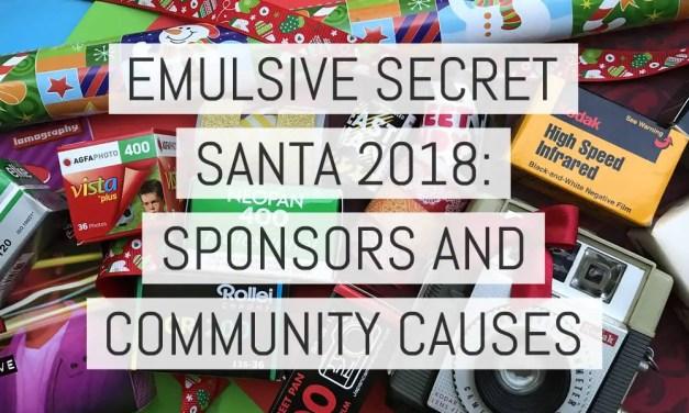 EMULSIVE Secret Santa 2018 – Sponsors and community causes