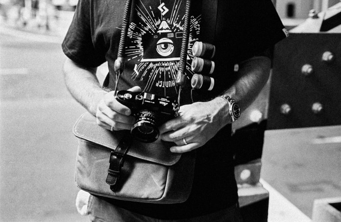 ONA X JCH Bowery limited edition camera bag