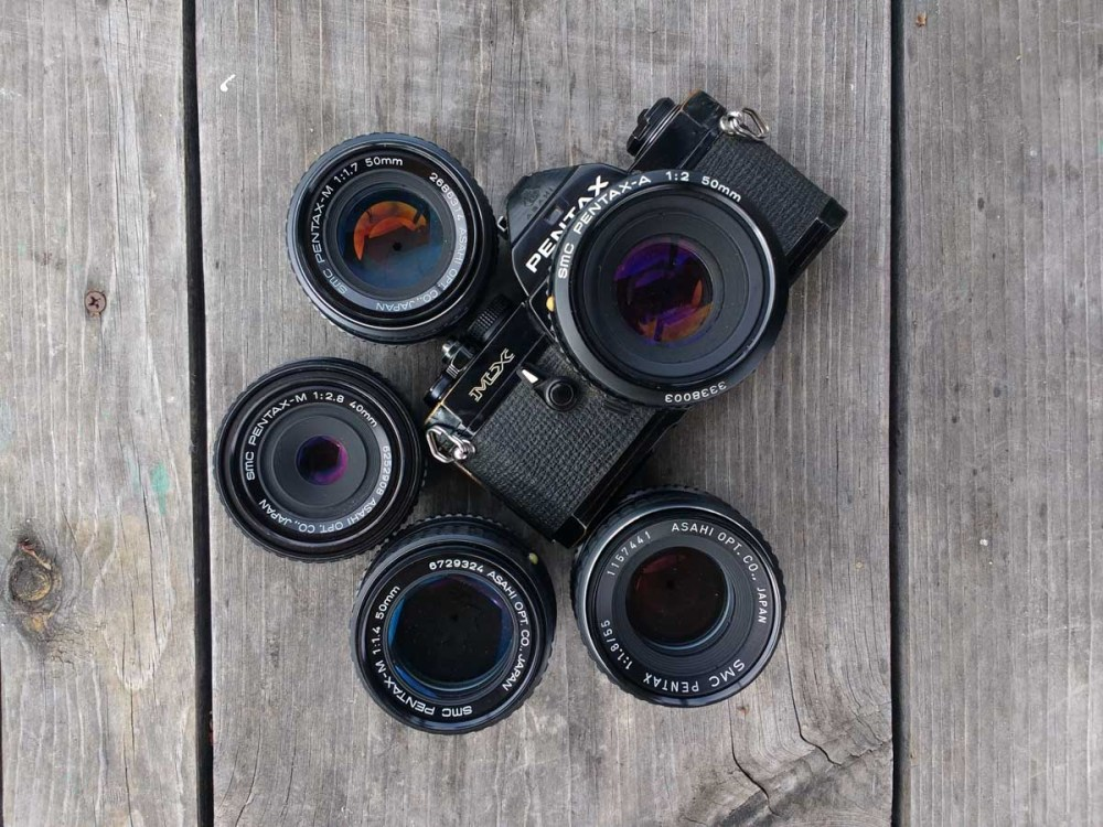 The Pentax ME Super + family