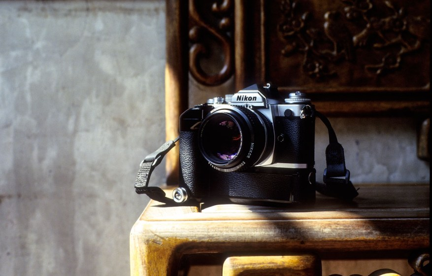 Nikon FM3A, Nikkor 50mm f1-2 AI-S - Shot on Kodak EKTACHROME E100 at EI 800