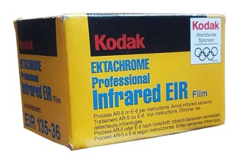 1997 - Kodak EKTACHROME Professional Infrared EIR, Author's collection