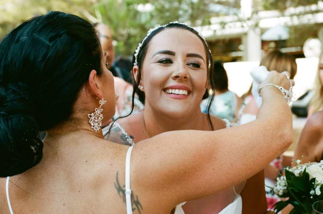 Aidan and Becca's wedding - Kodak Portra 400 - Ted Smith