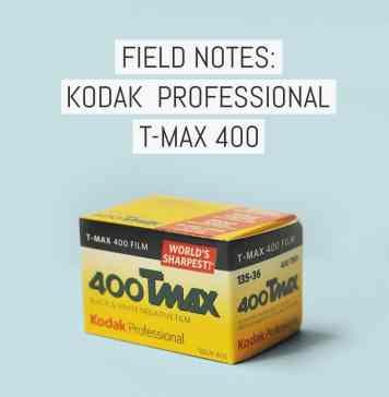 Cover - Field Notes - Kodak Professional T-MAX 400