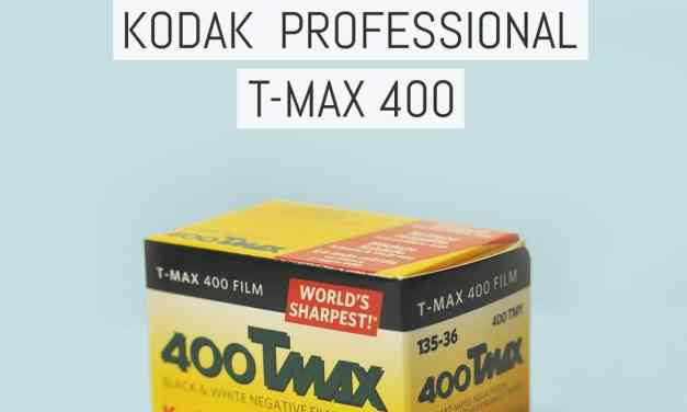 Field notes: Kodak Professional T-MAX 400
