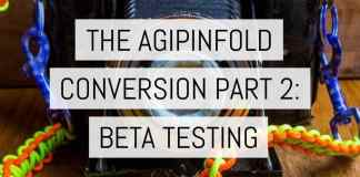 Cover - The AgiPinFold Conversion part 2 - beta testing