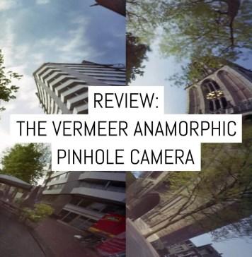 Camera Review - the Vermeer Anamorphic pinhole camera