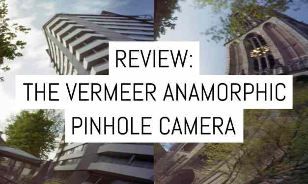 Camera review: the Vermeer Anamorphic pinhole camera – no lens, lots of distortion
