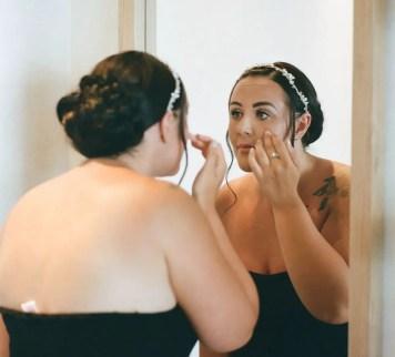 Getting ready - Aidan and Becca's wedding - Kodak Portra 400 - Ted Smith