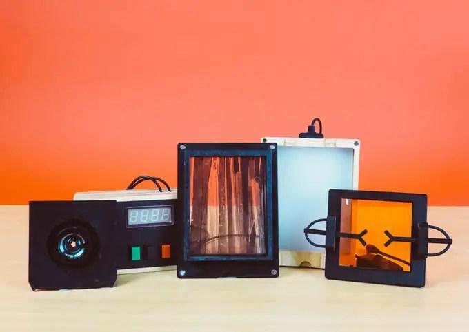 Intrepid Enlarger with timer, 4x5 negative holder and multigrade filter holder