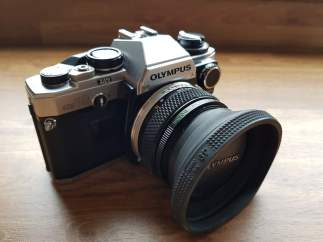 Rob Davie - Dad's Olympus OM10