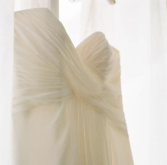 The dress - Aidan and Becca's wedding - Kodak Portra 400 - Ted Smith