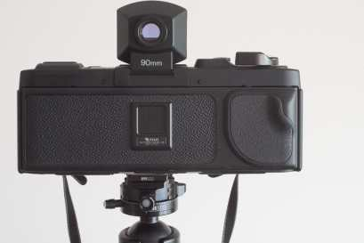 Fuji Panorama GX617 Camera Review - Rear