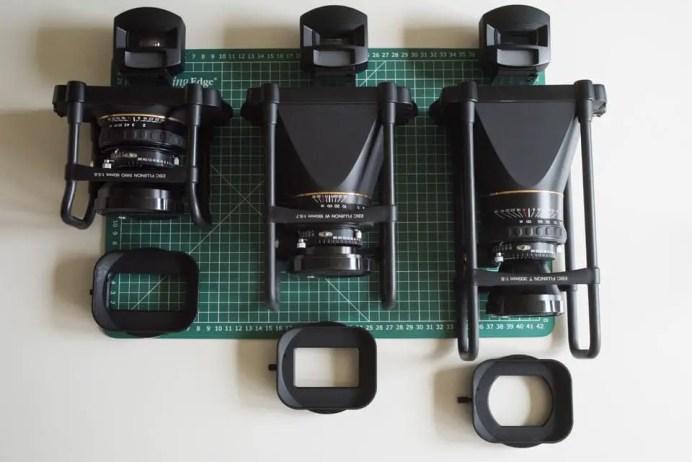 Fuji Panorama GX617 Camera Review - Lenses, finders and hoods