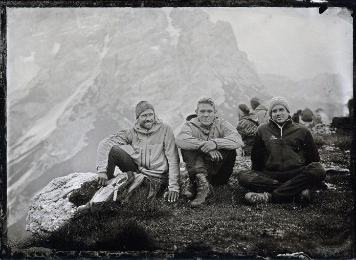 Wet plate expedition