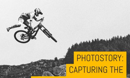 Photoset: Capturing the Red Bull Hardline 2018 on Kodak Tri-X 400 – by Cat Topham