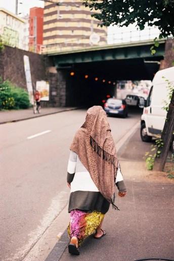 Colorful Stranger, Clermont Ferrand, France - Minolta SRT100x, Kodak Ektar 100