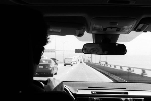 Roadtrippin', San Francisco, California, USA - Minolta SRT 100x, ILFORD HP5 PLUS