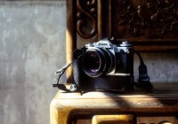 'lil stunner - Shot on Kodak EKTACHROME E100 at EI 400. Color reversal (slide) film in 35mm format. Push processed two stops.