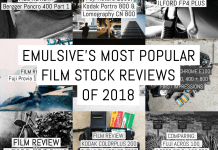 EMULSIVE's most popular film stock reviews of 2018
